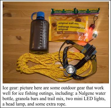Great ice fishing gadgets for Basic fishing gear